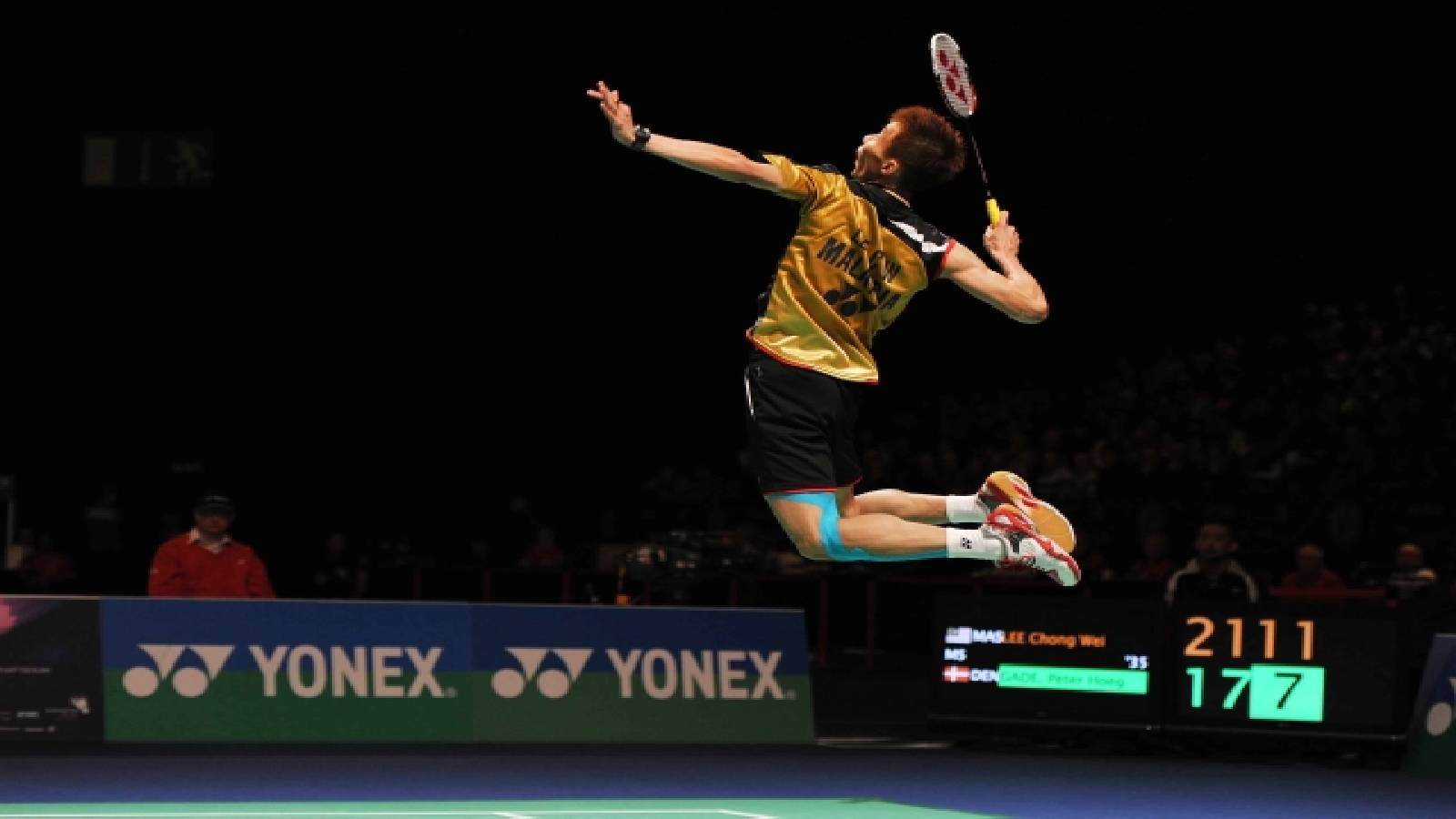 What STRING and TENSION does Lin Dan & Lee Chong Wei use ?