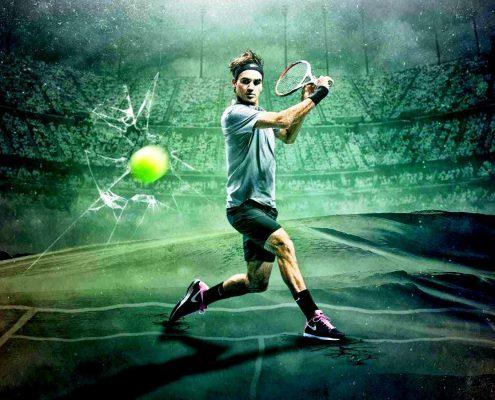 Federer training routine