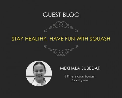 Stay Healthy Have Fun with Squash